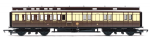 R4670 Hornby GWR Clerestory Brake Coach